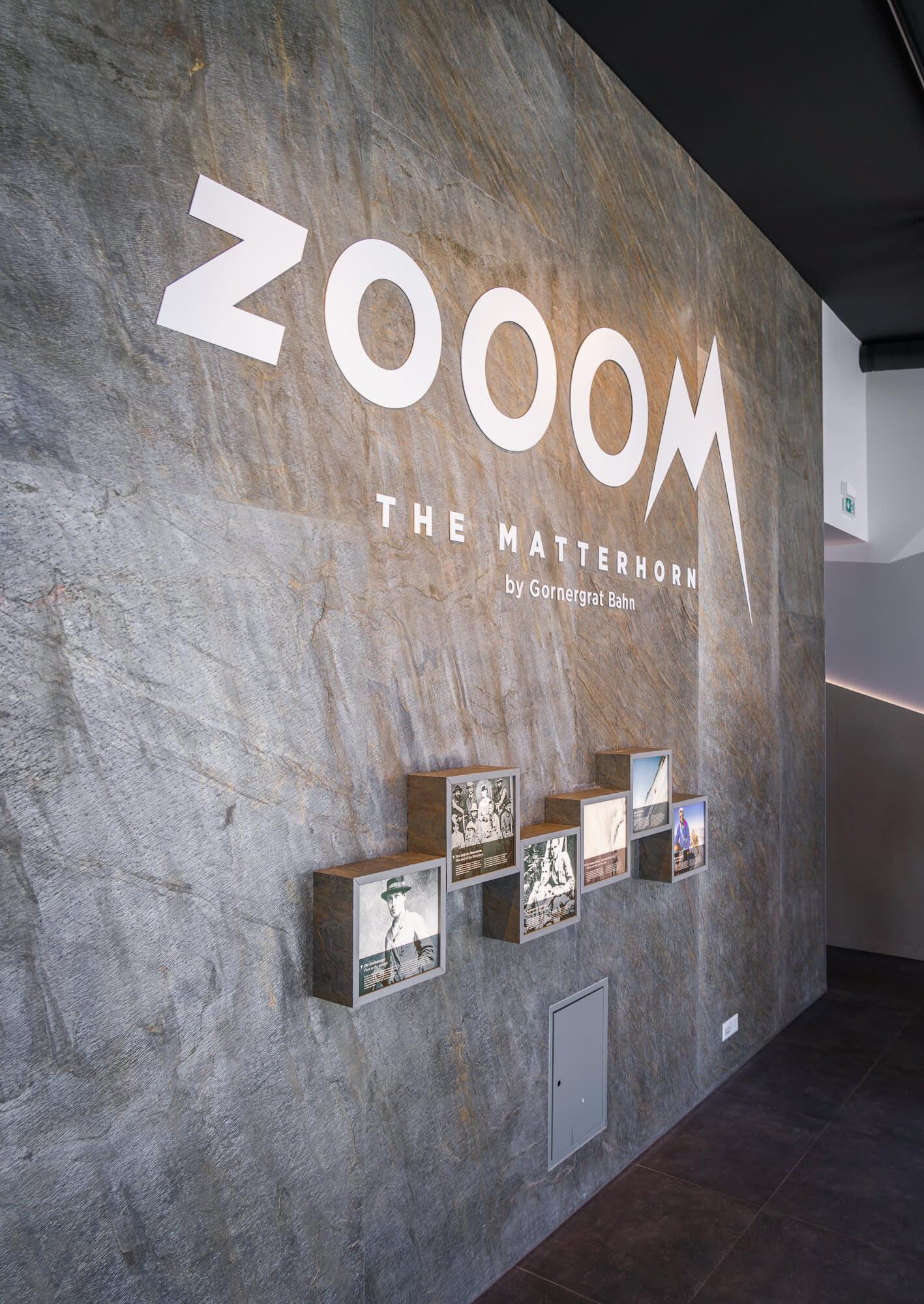Les héros du Cervin - Zooom the Matterhorn, expérience multimédia au Gornergrat au-dessus de Zermatt