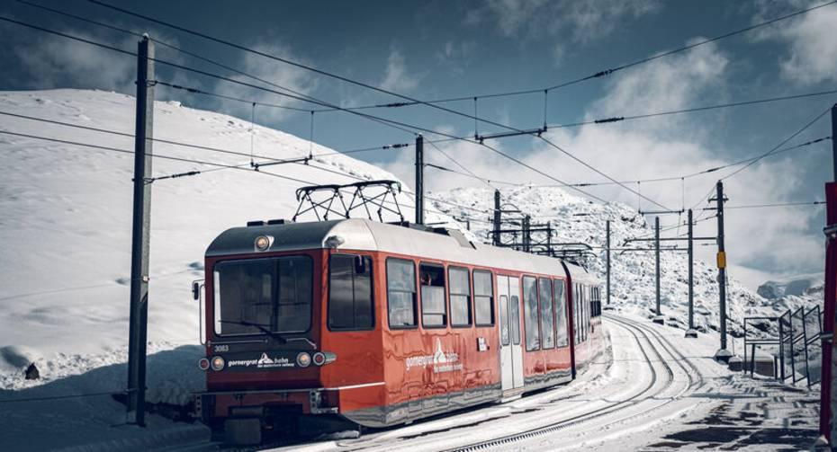 Gornergrat Bahn auf Rotenboden