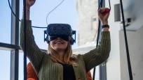 """Parapente en réalité virtuelle dans le monde de l'expérience """"Zooom the Matterhorn""""."""