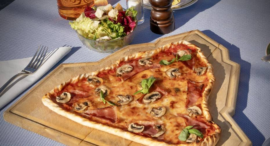 Restaurant Al Bosco Matterhorn Pizza