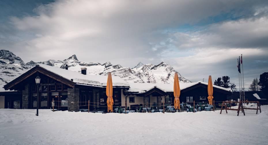 Restaurant Al Bosco Riffelalp Resort en hiver
