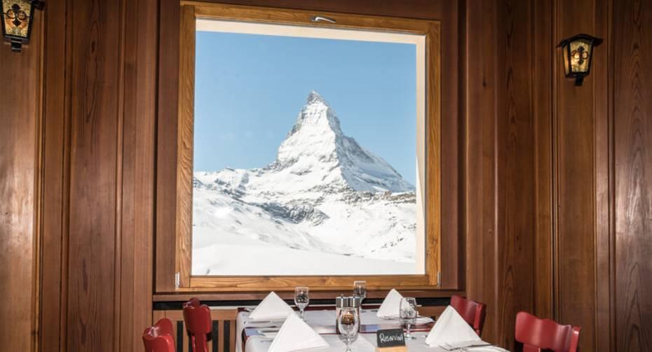 Restaurant Riffelhaus Tisch