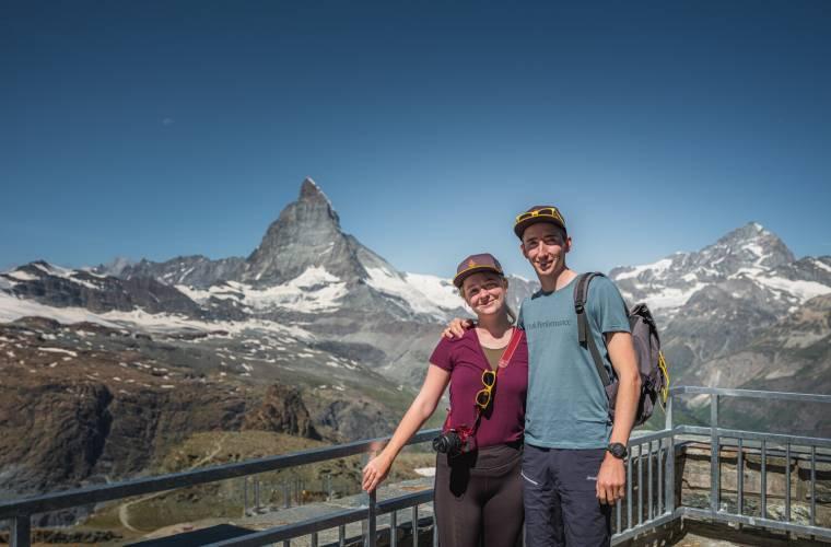 Fotopoint on the Gornergrat, Matterhorn Movie