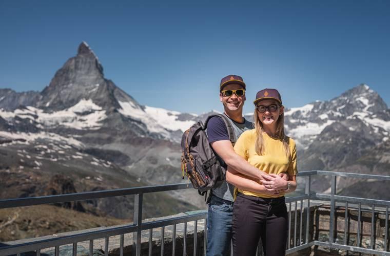 Photopoint Gornergrat Matterhorn Movie été