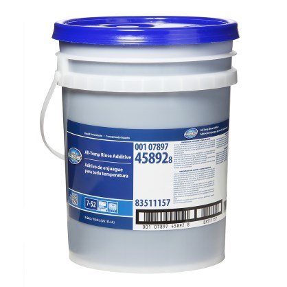 Luster professional all temp rinse additive product