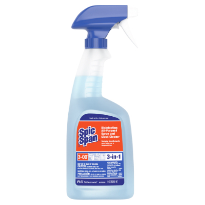 Spic and Span disinfecting all-purpose spray glass cleaner