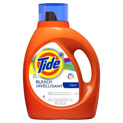 Tide Plus Bleach Laundry Detergent
