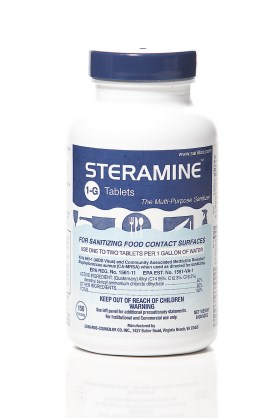 Luster Professional Steramine Sanitizer Tablets