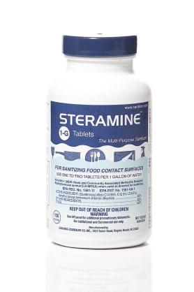 Luster Professional Steramine Sanitizer Tablets
