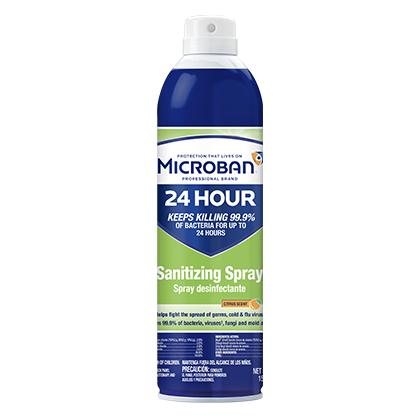 Microban 24 Hour Sanitizing Spray