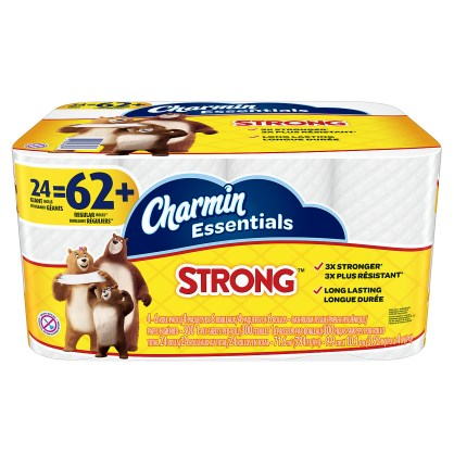 Charmin Essentials Strong Label