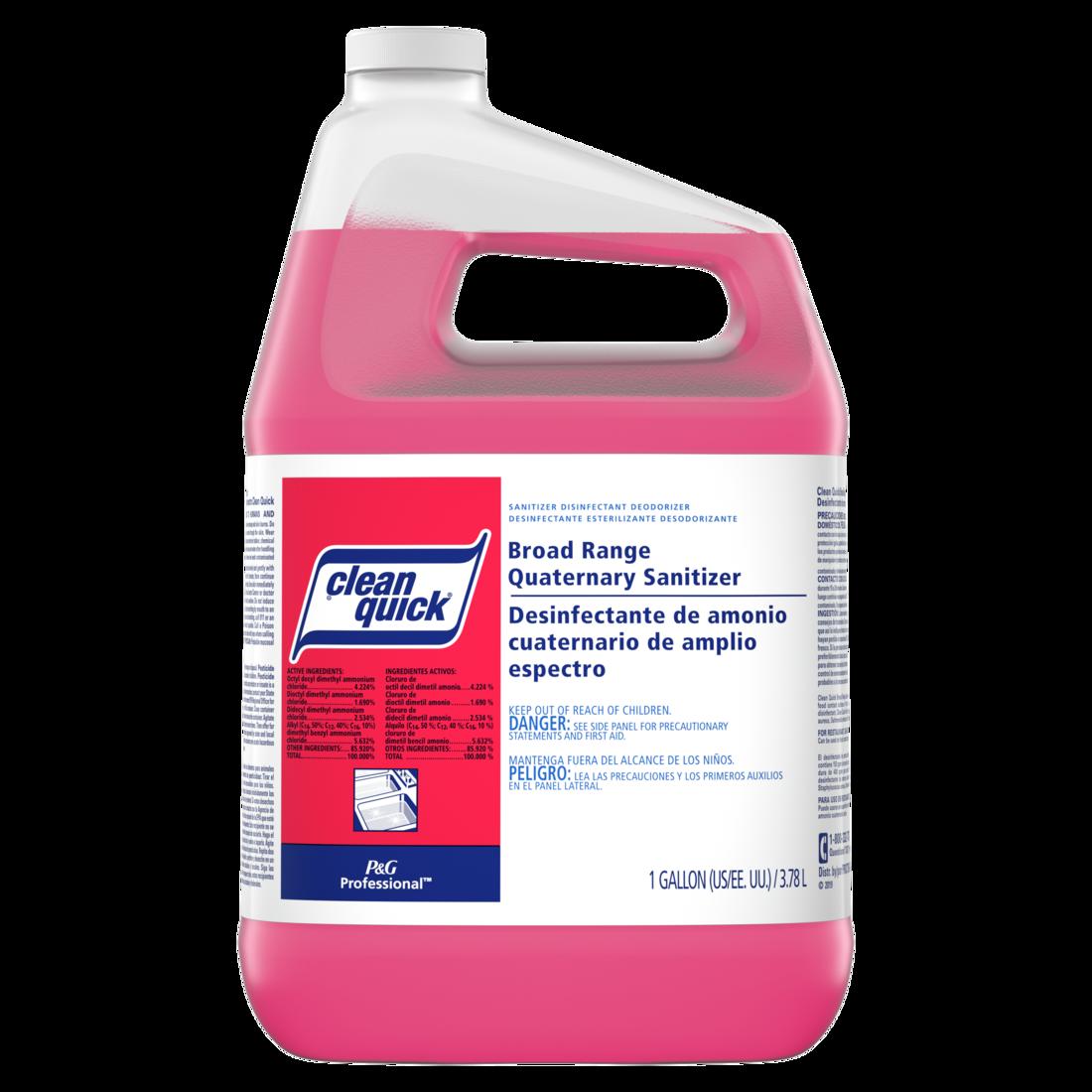 Clean Quick Broad Range Quaternary Sanitizer