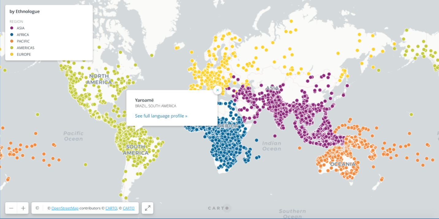 Visualizing Linguistic Big Data for Deeper Insights