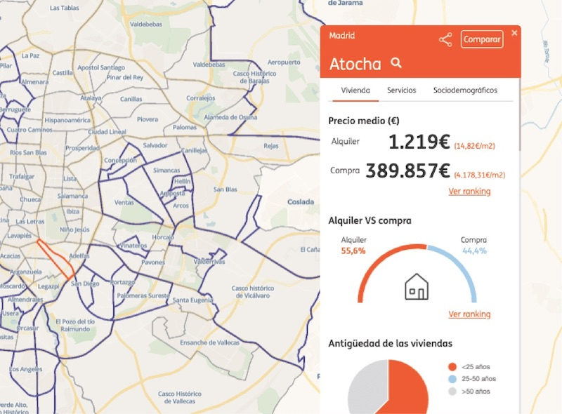 How ING use spatial analysis to drive Residential Real Estate decisions