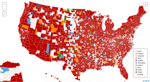 Real-Time Election Mapping