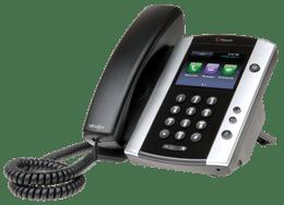 Polycom VVX 500 Series desk phone console