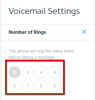 How to set up and use voicemail on your business phone choose number of rings m4hsunfo