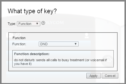 Choose function key