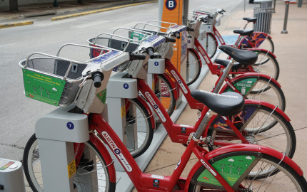 Bike sharing photos