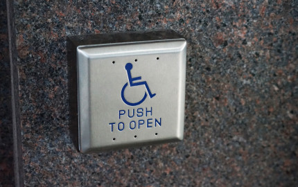 Accessible Door Push Button