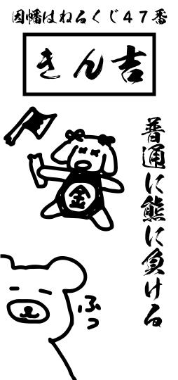 きん吉 - 普通に熊に負ける