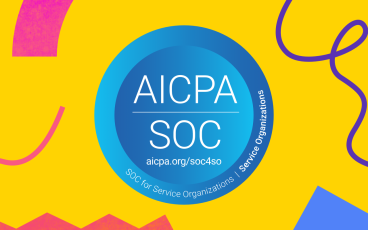 Illustrated hero of AICPA SOC badge