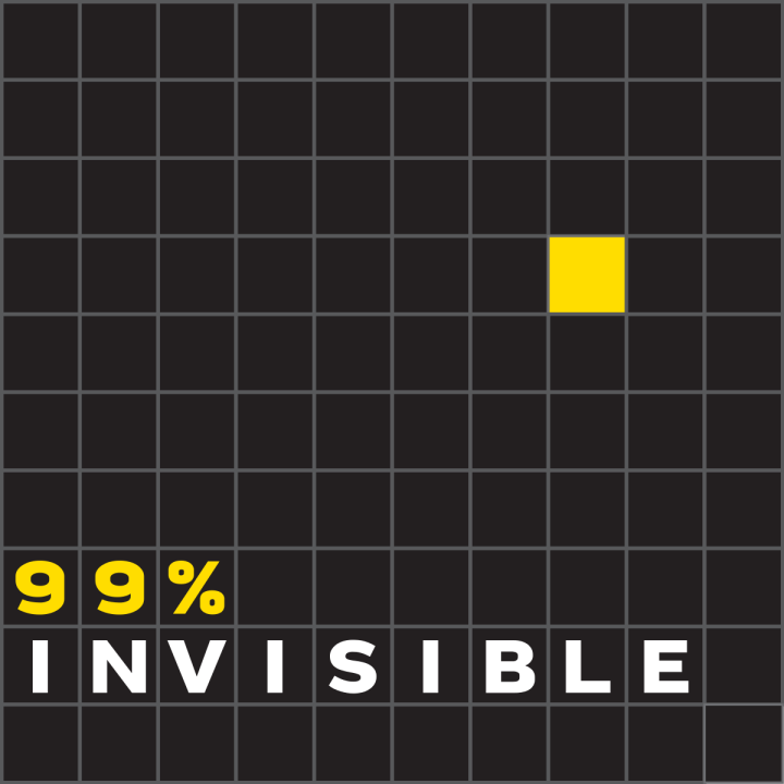 The 99% Invisible podcast is hosted by Roman Mars.
