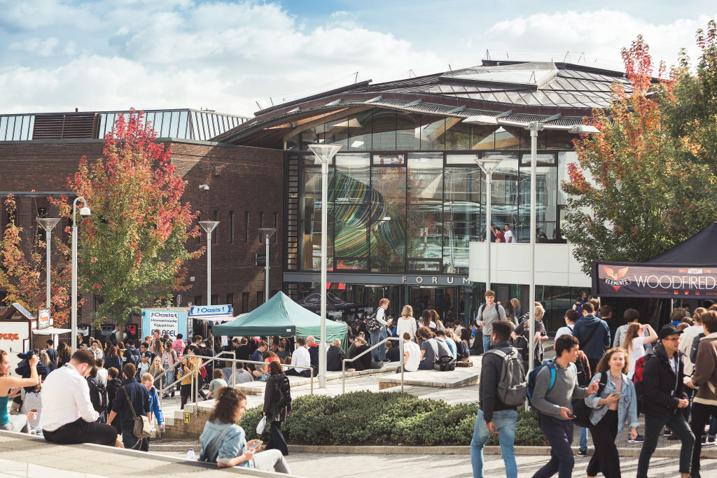 Campus Fair at University of Exeter