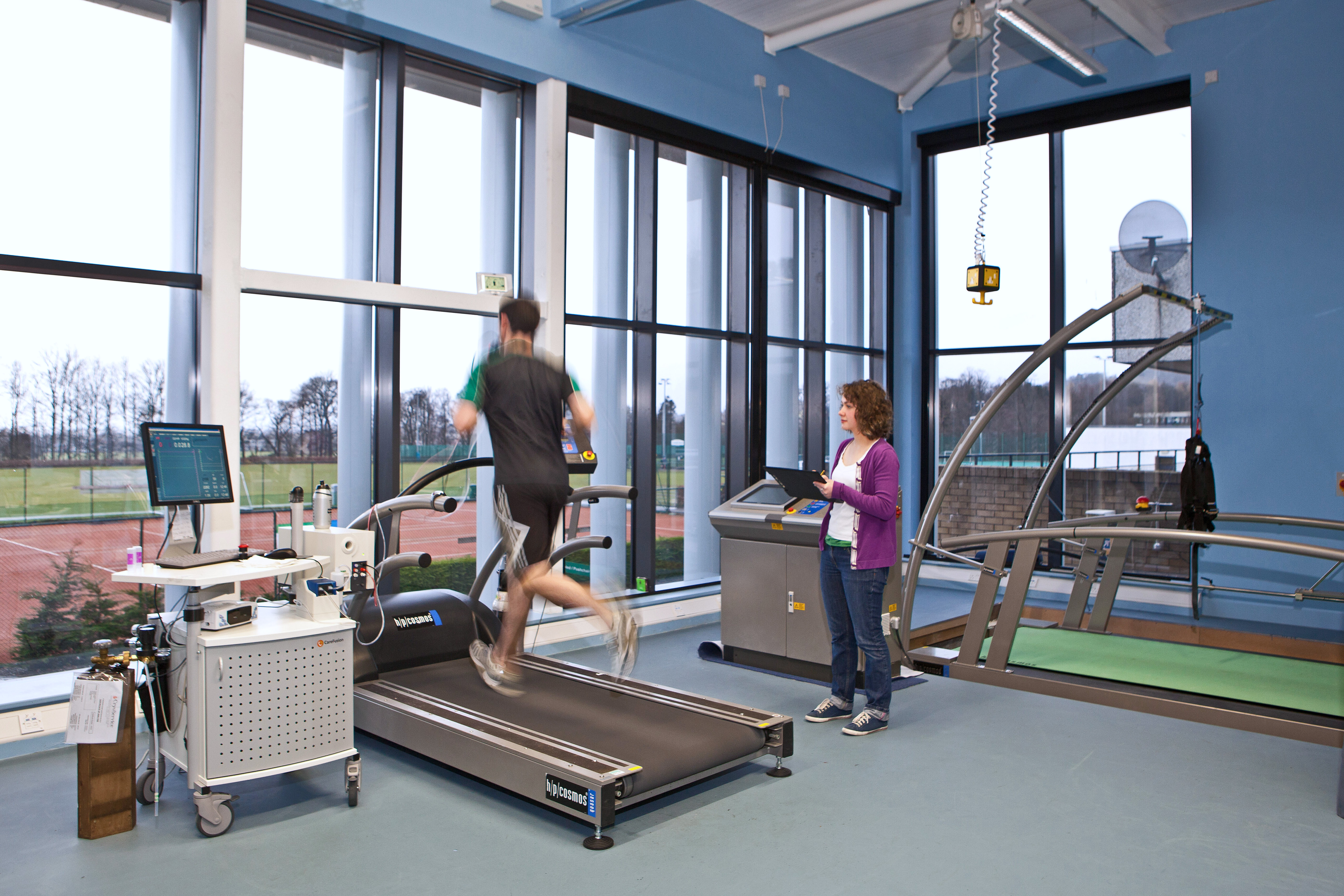 Students working in the Faculty of Health Sciences and Sport at University of Stirling