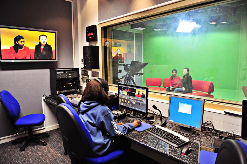 Media facilities at University of Gloucestershire