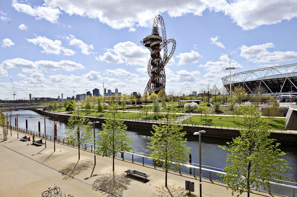 London's olympic park