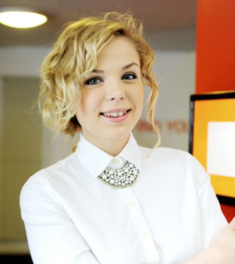 Photo of international student Alena at INTO UEA