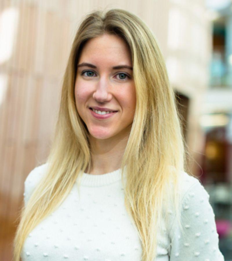 Photo of international student Stefaniia at INTO Exeter