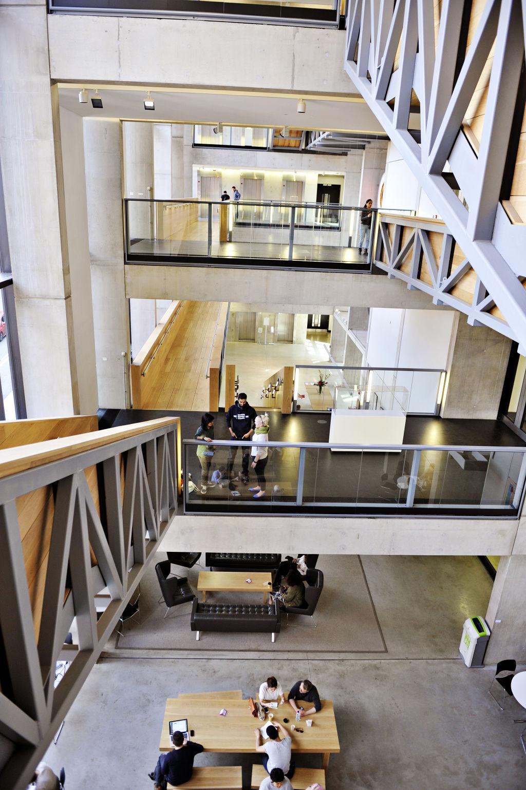 Inside Manchester Metropolitan University