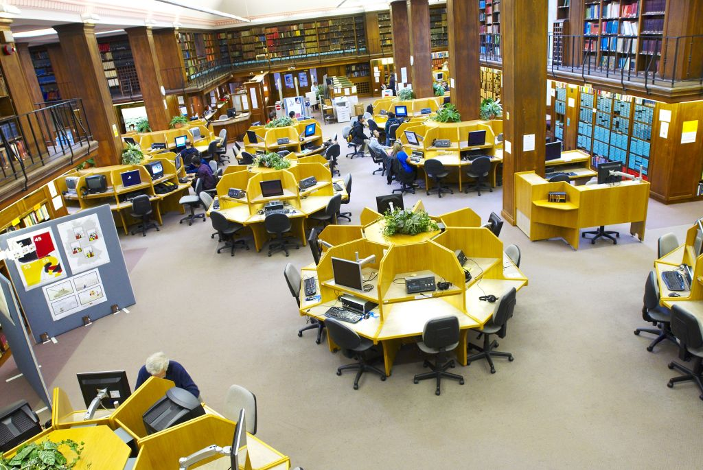 The Learning Resource Centre in the Old Library Building