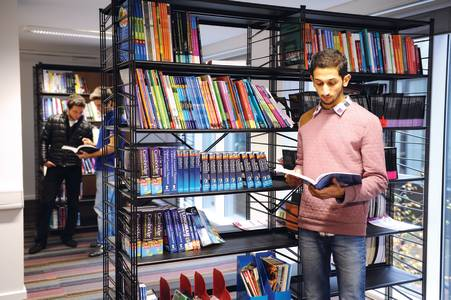 The Learning Resource Centre provides extensive study materials