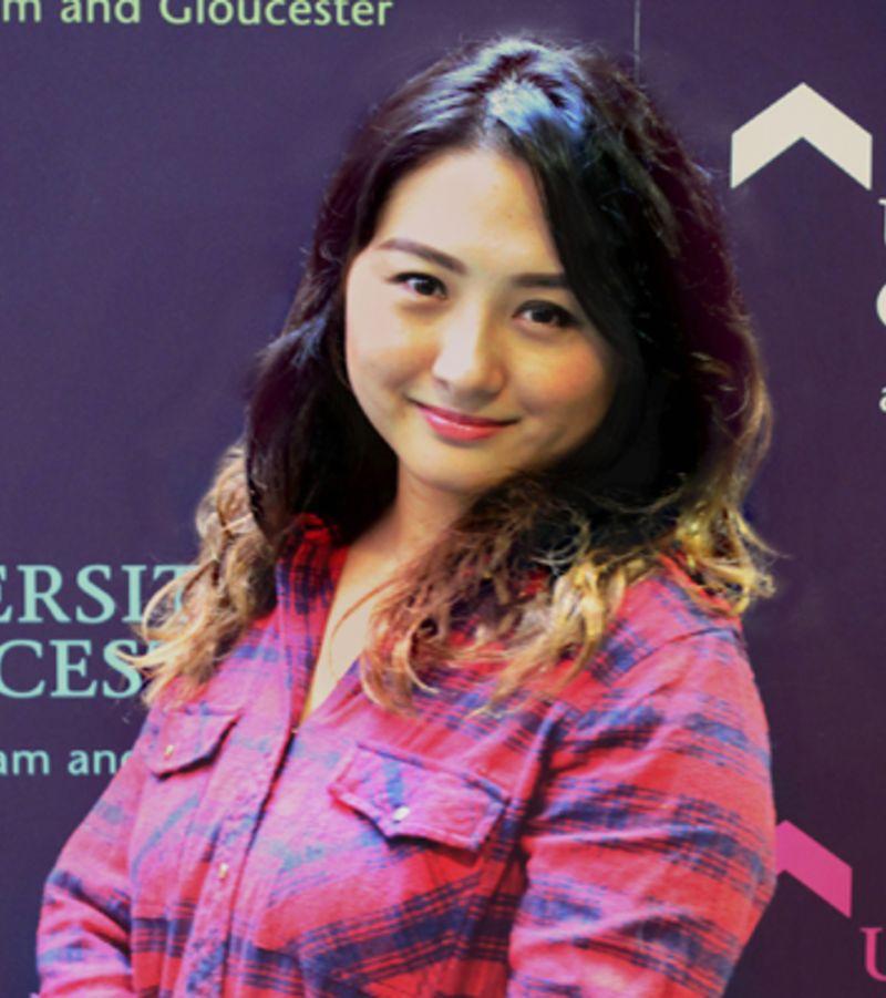 Photo of International student Wai at INTO University of Gloucestershire