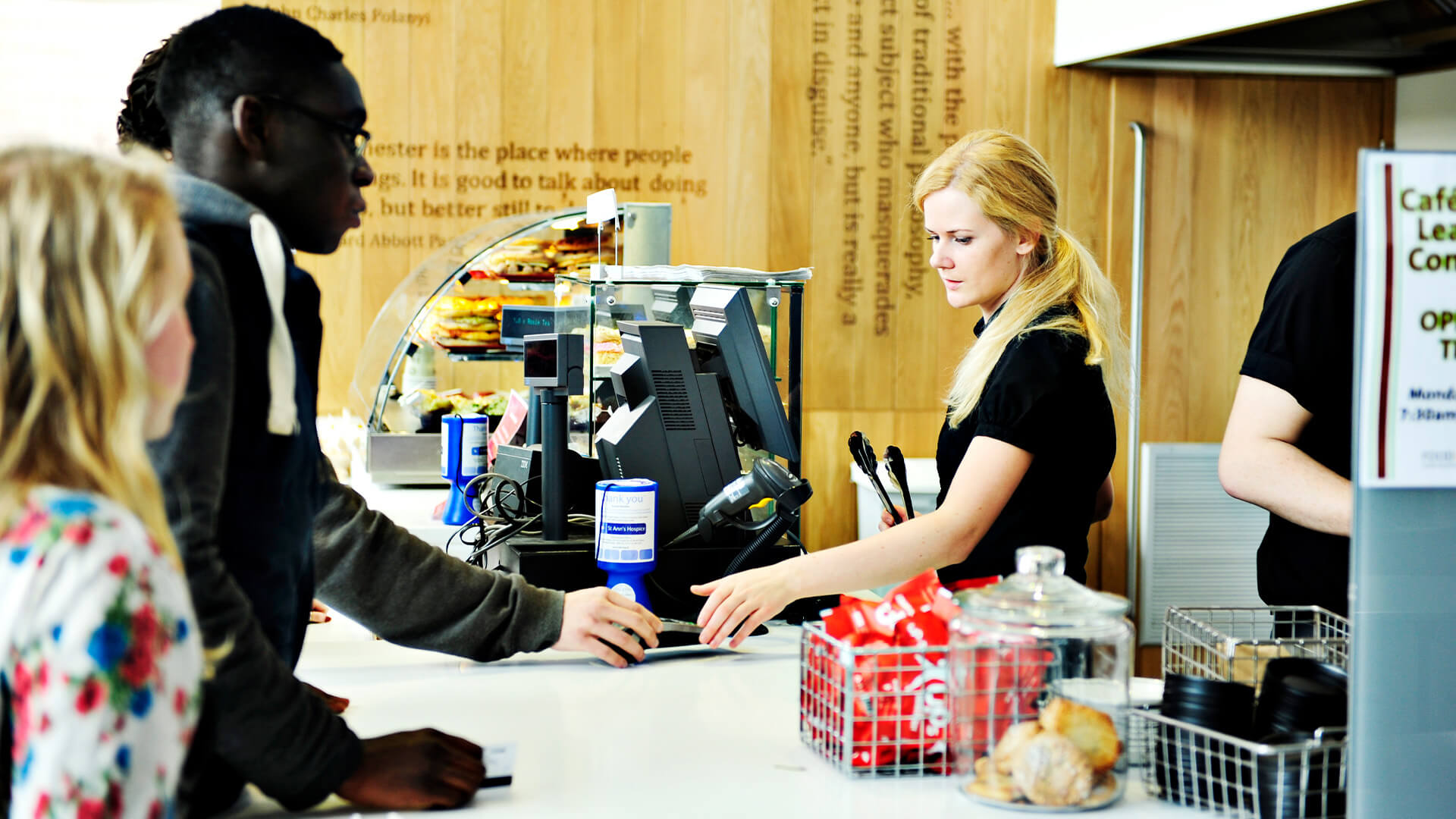 The Whitworth Café is an on-campus cafe at The University of Manchester