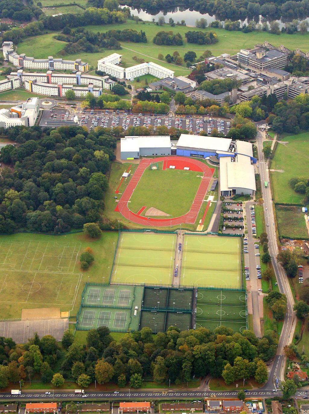 Sportspark Aerial View