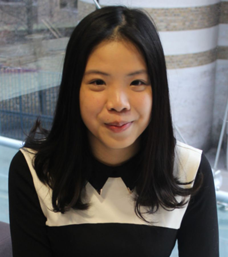Photo of international student Yingxin at INTO City University London