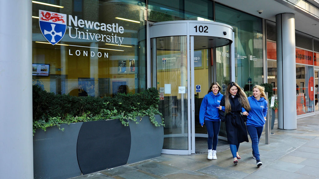Newcastle University London campus