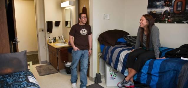 俄勒冈州立大学Bloss Hall公寓内景