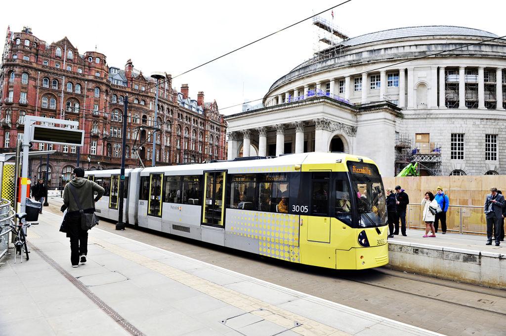 Manchester's convenient tram network