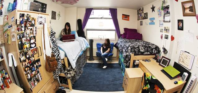 Cauthorn Hall accommodation at Oregon State University