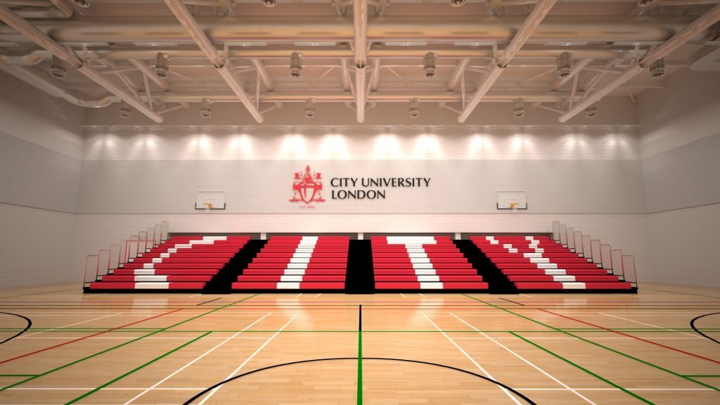 Sports Hall at City, University of London