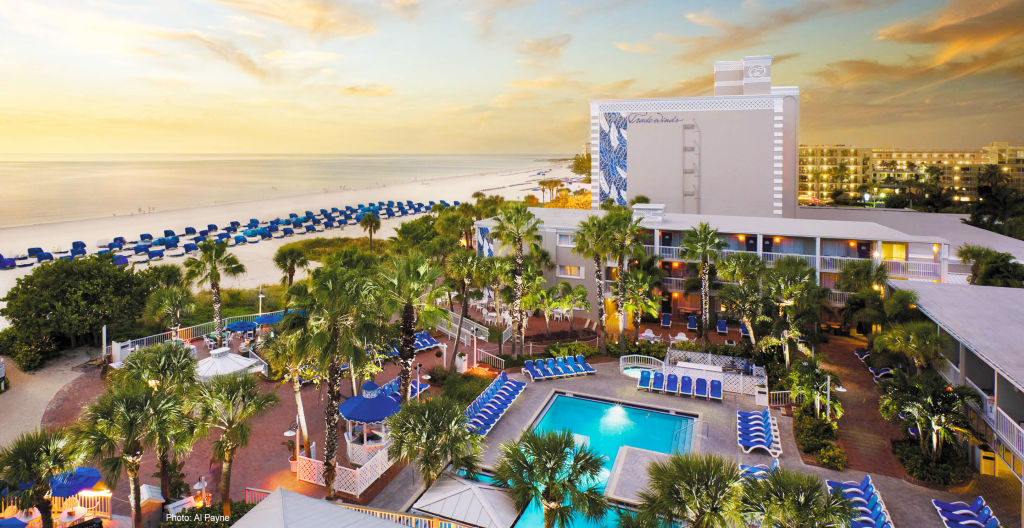 USF Beach accommodations