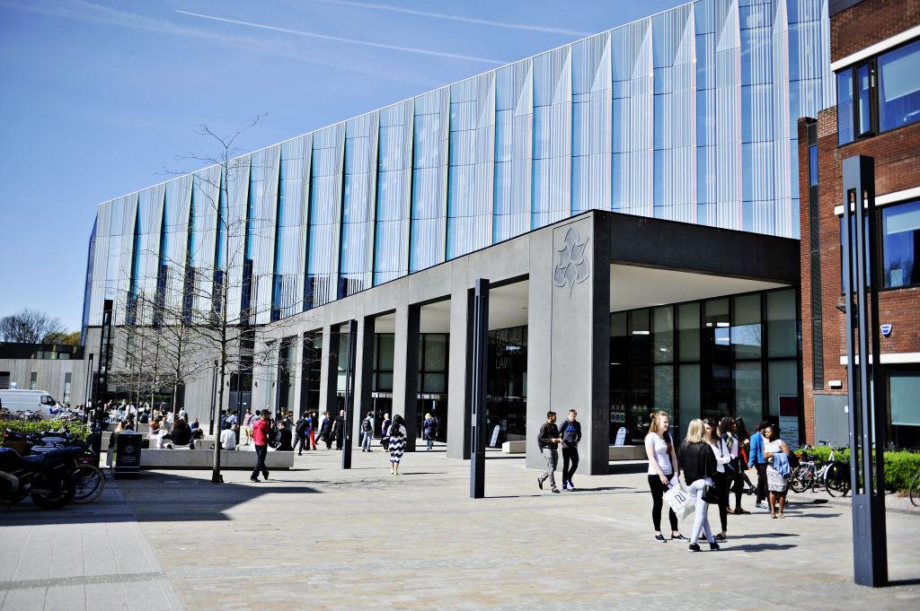 Exterior of Manchester Metropolitan University building
