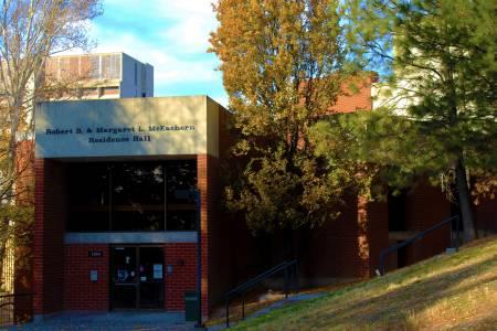 华盛顿州立大学McEachern Hall平面图