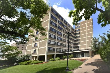 International housing in Marguerite Hall at Saint Louis University