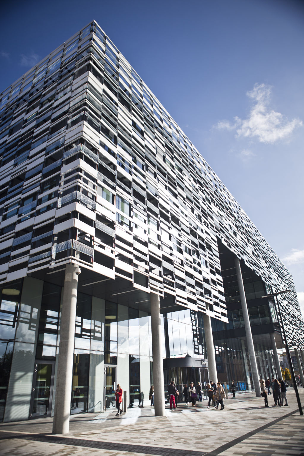Birley Building – home to the Faculty of Education and the Faculty of Health, Psychology and Social Care